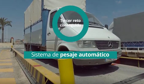 Integration of sales and automatic vehicle weighing systems