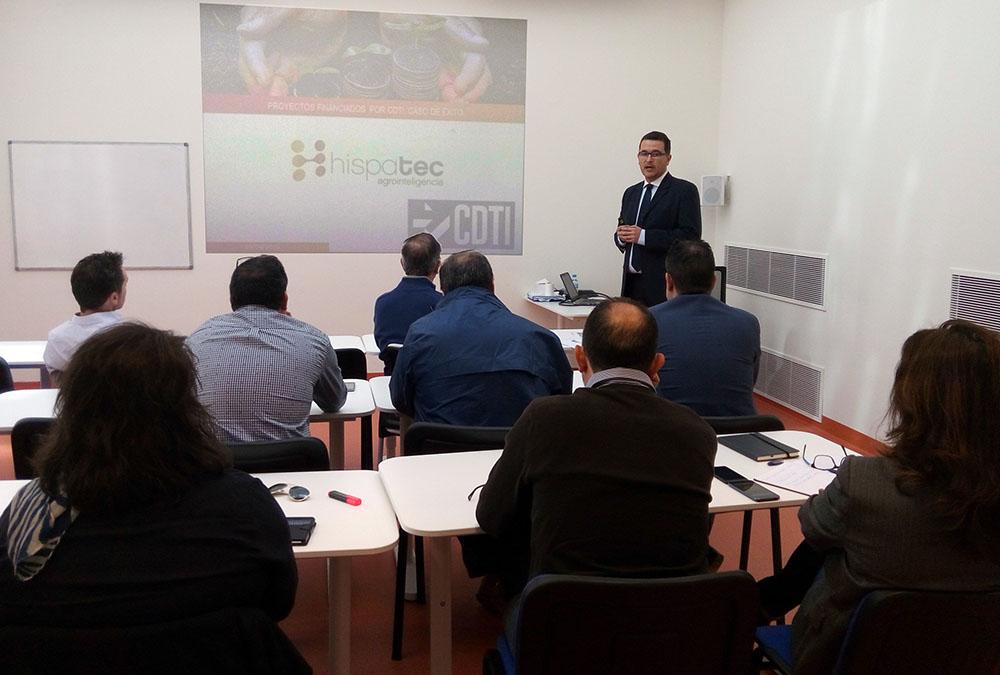 Trazabilidad e innovación CDTI Hispatec Almería