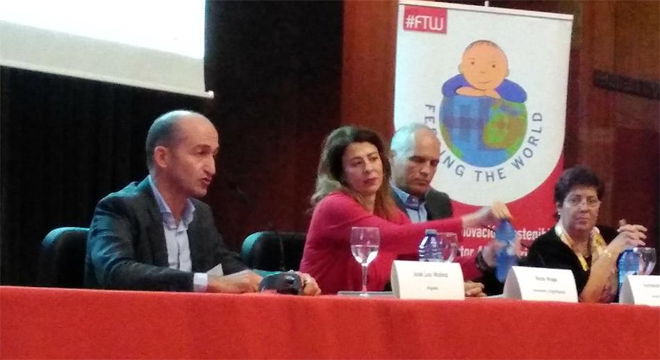 Jose luis Molina hispatec Feeding the world