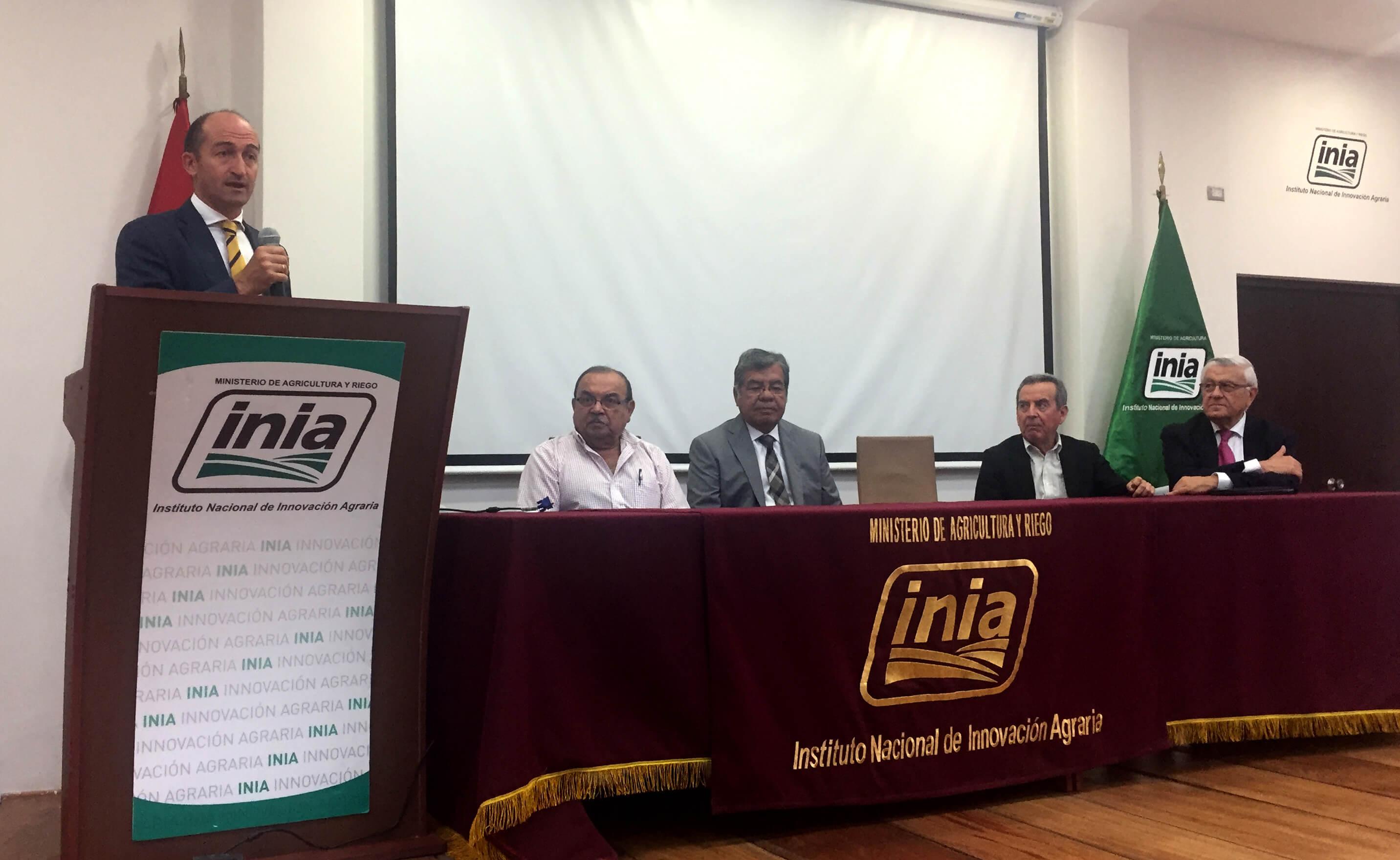 Iniciamos la Formación de Técnicos Agrícolas en Perú