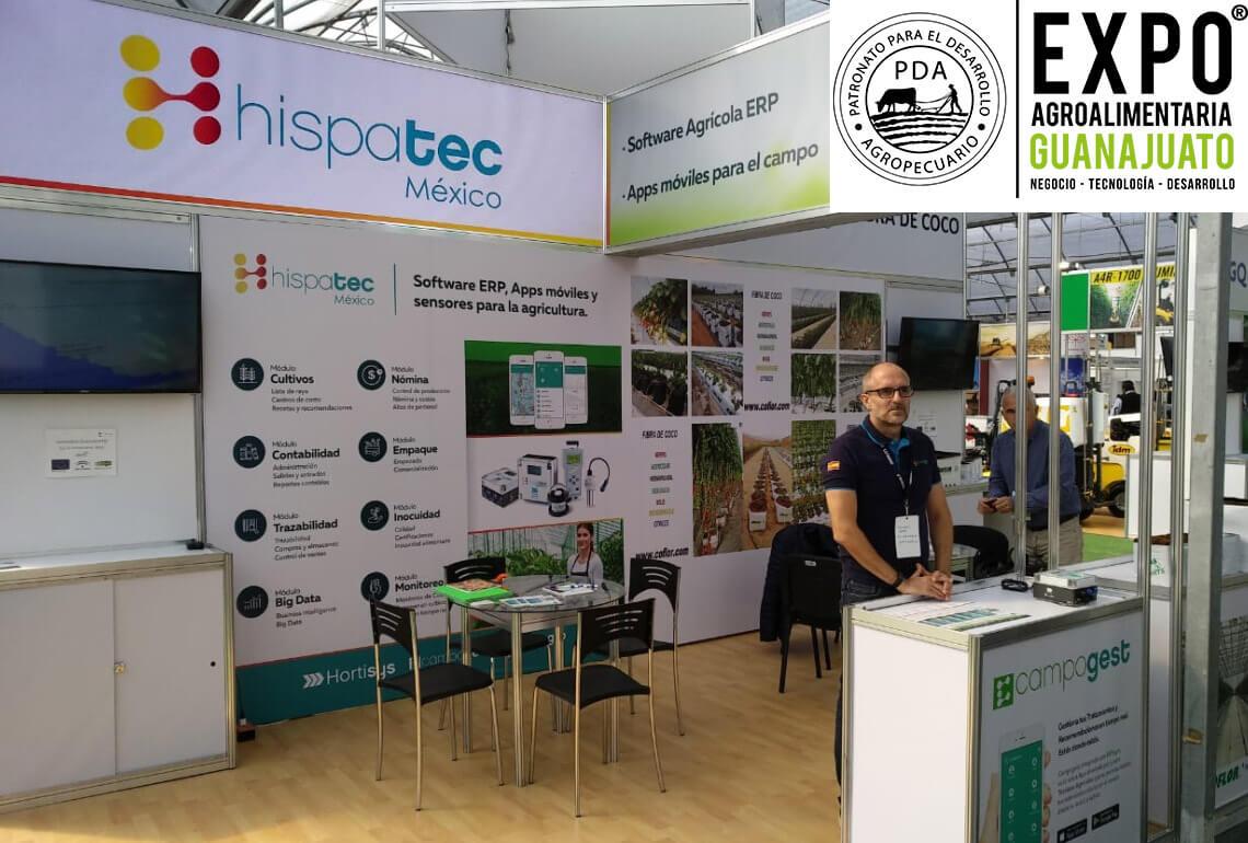Hispatec en Expo Agroalimentaria de Guanajuato