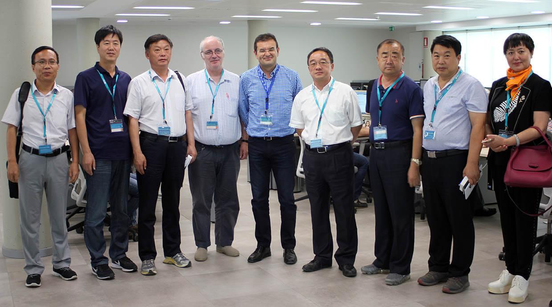 Visita de delegación de Agricultura China