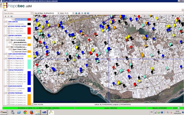 GIS, localiza en ERPagro tus cultivos
