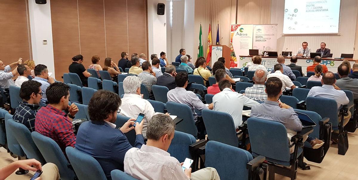 Jornada de Transformación Digital Agrícola en Huelva
