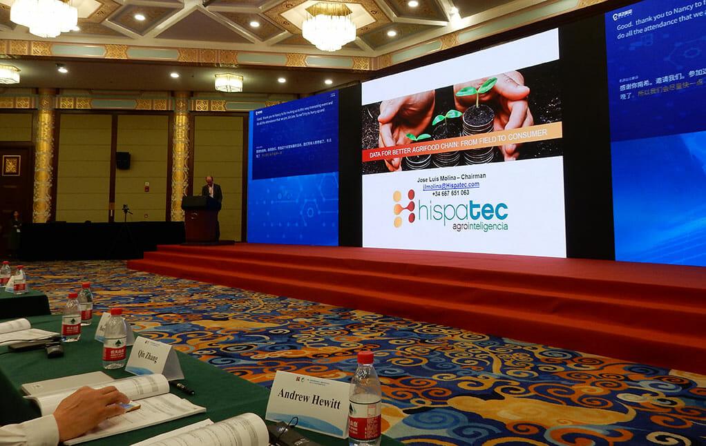 Ponencia en Beijing, China, en ICIA2019