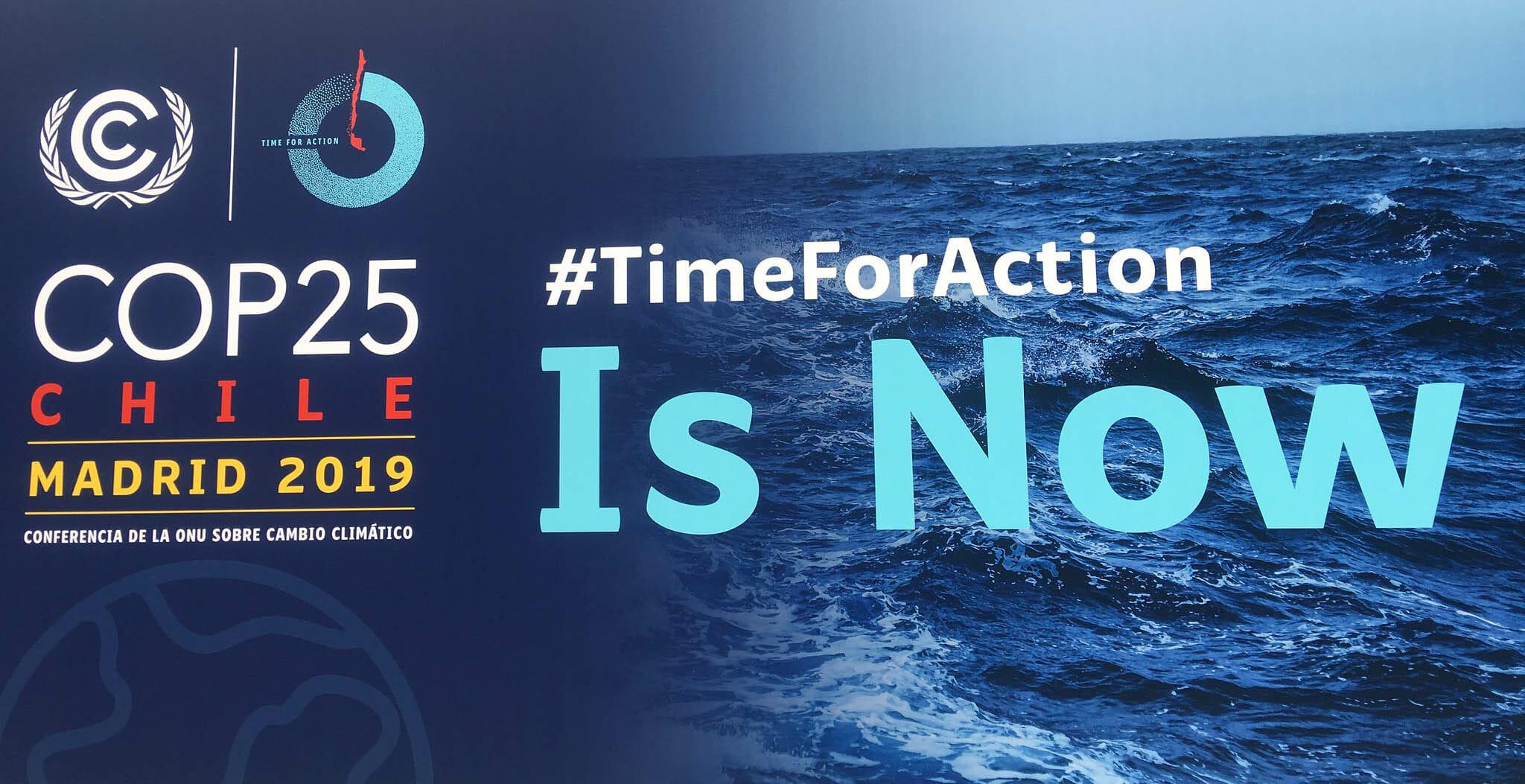 Participamos en la Cumbre del Clima COP25 2019