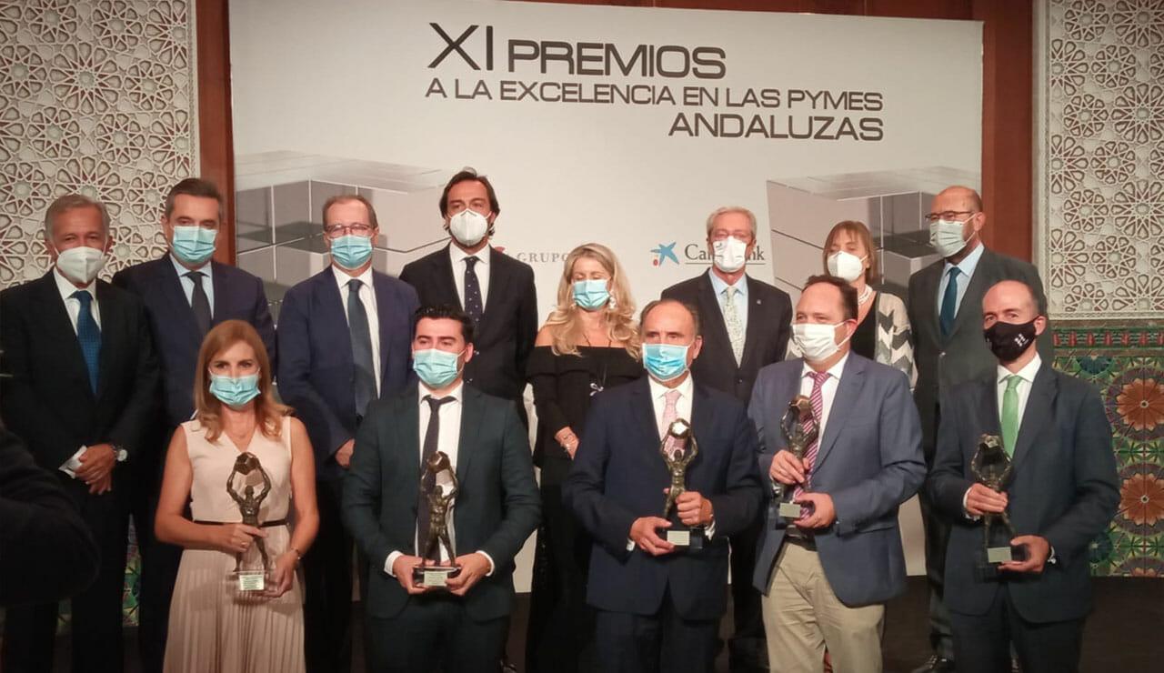 Premiados por nuestra Excelencia como Pyme Andaluza durante la pandemia