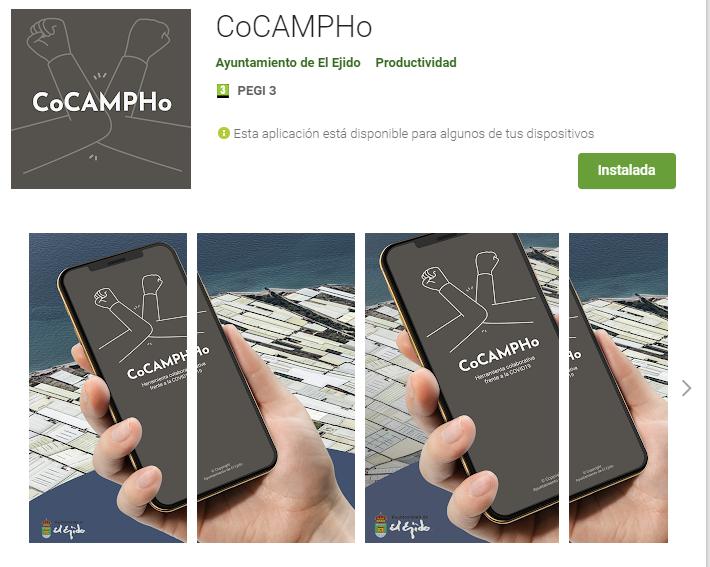 CoCAMPHO, app solidaria para la Agricultura