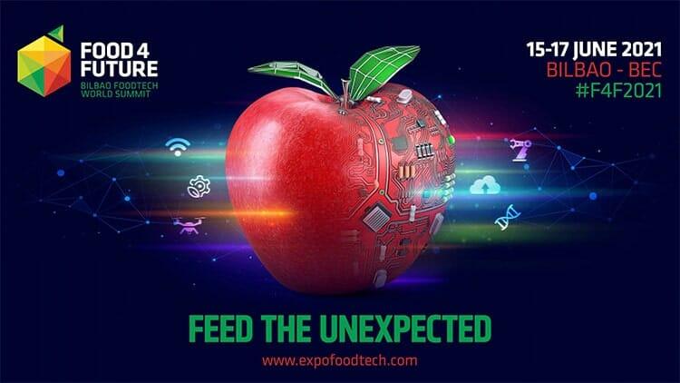 Nos vemos en Food 4 Future, Bilbao 15-17 de junio